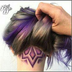 Image result for undercut hair design london
