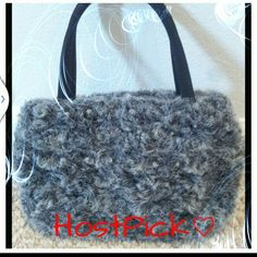 HPSmall faux fur handbag NWOT. small faux fur handbag.  Never use. New. Bags