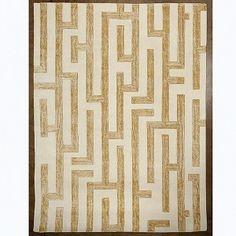 Labyrinth Rug - Golden #interiorhomescapes #globalviews #rug #home #decor #desgin #furniture