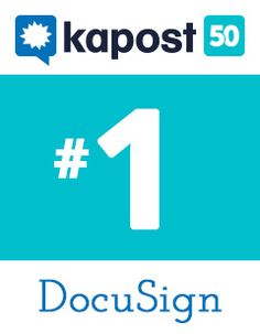 Early this month, we announced the Kapost Top 50 Content Marketing Brands—a list of brands whose content marketing efforts are generating big wins and real successes.  Number one on that list? Electronic signature provider DocuSign.  Today, we thought we'd offer a little more insight into why DocuSign topped our list and what their content marketing looks like.