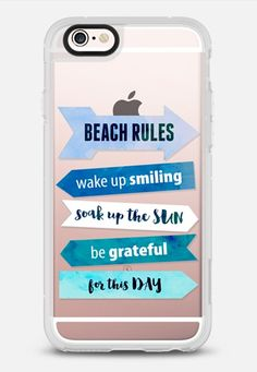 Beach Rulers iPhone 6s Case by Emanuela Carratoni | Casetify