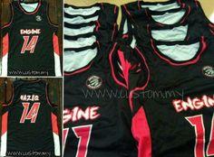 Done print Jersey Basketball untuk top agent @custom_my...
