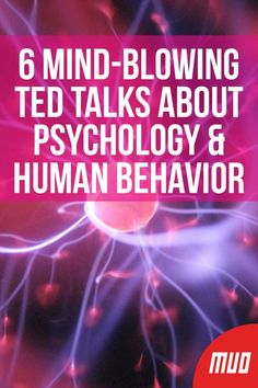 6 Mind-Blowing TED Talks About Psychology & Human Behavior --- The human brain is complex and confusing, which explains why human behavior is so complex and confusing. People have a tendency to act on Best Ted Talks, Paz Mental, Human Behavior, Coaching, Self Development, Mind Blown, Self Improvement, Self Help, Good To Know