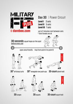 Military Fit Plus: 30-Day Fitness Program                                                                                                                                                                                 More