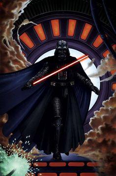 Best Darth Vader art ever! Star Wars Comics, Star Wars Toys, Star Wars Film, Star Wars Art, Jedi Knight, Star Wars Wallpaper, Walt Disney Pictures, Marvel, Anakin Skywalker