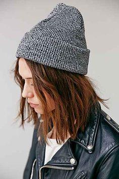 BDG Cuffed Rib-Knit Beanie - Urban Outfitters Soft Grunge 5c3bf1225cb5