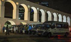 Equipe do GLOBO retrata o dia e a noite em calçadas e praças da cidade