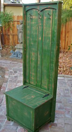 Entryway Furniture  Hall Stand  Distressed by honeystreasures, $650.00