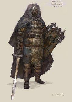 View an image titled 'Iron Pine Guard Male Art' in our Rift art gallery featuring official character designs, concept art, and promo pictures. Game Character Design, Fantasy Character Design, Character Concept, Character Art, Concept Art, Fantasy Armor, Medieval Fantasy, Dark Fantasy, Twilight Princess