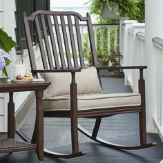 Found it at Wayfair - River House Porch Rocking Chair with Cushions