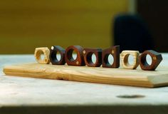 Screwed Wooden Jewelry - The Brasstard Ring by Nucharin Wangphongsawasd is Stylishly Masculine (GALLERY)