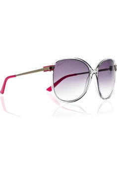 2b9454781e298 Gucci - Round-frame acetate sunglasses. Prescription SunglassesPrescription  LensesStylish SunglassesCat Eye ...
