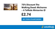 75% Discount The Walking Dead: Michonne - A Telltale Miniseries @ STEAM, £2.74 at Steampowered