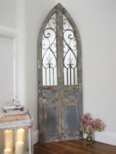arch mirror beautiful vintage blue gothic style large mirror with doors 180cm