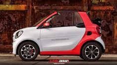 2015 smart fortwo cabrio Rendering