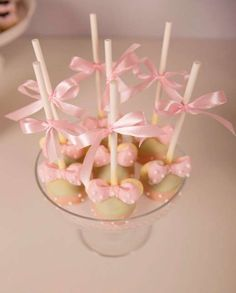 Mickey Mouse & Minnie Mouse birthday party cake pops! See more party planning ideas at CatchMyParty.com!