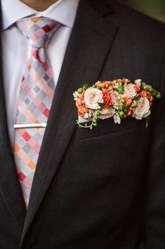 Surprise Proposal at Lan Su Chinese Garden sophisticated floral designs portland oregon floral pocket square boutonniere