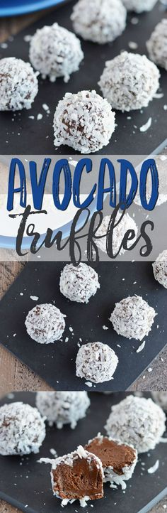 These easy Avocado Truffles are a great way to satisfy your sweet tooth without having to indulge in unhealthy desserts. Plus they're gluten free, dairy free, paleo, and vegan. If I told you my kids LOVE these avocado truffles would you believe me? Becaus