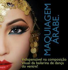 Inspiração - Make árabe.