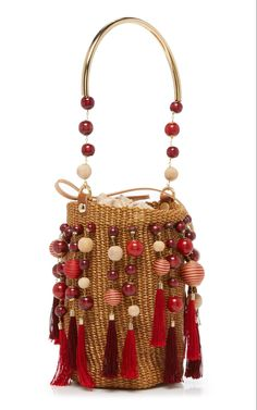 """New Cheap Bags. The location where building and construction meets style, beaded crochet is the act of using beads to decorate crocheted products. """"Crochet"""" is derived fro Diy Clutch, Macrame Bag, Boho Bags, Crochet Handbags, Beaded Bags, Bead Crochet, Beautiful Bags, Handmade Bags, Designer"""