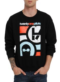 Twenty One Pilots Mask Crew Pullover | Hot Topic