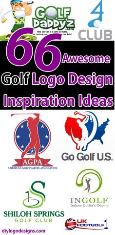 66+ Awesome Golf Logo Design Inspiration Ideas => See Full collection.
