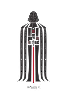 "star-wars-nerd: ""son-of-dathomir: "" Dark Father by Jeffrey Veregge "" It's a trap!"" Come to the Dark Side 👍🏻 Darth Vader, Star Wars Darth, Dark Father, Mickey Mouse, Pop Culture Art, Star Wars Wallpaper, Native American Artists, Love Stars, Dark Side"