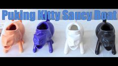 Puking Kitty Saucy Boat