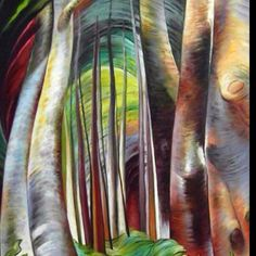 I love Emily Carr Canadian Painters, Canadian Artists, Emily Carr Paintings, Group Of Seven Paintings, Tom Thomson, Forest Design, Wow Art, Impressionist Paintings, Realism Art