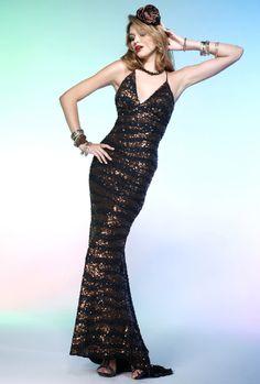 616265c20a Scala 2012 Metallic Long Prom Dress 4102 Formal Dresses