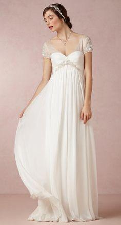 Ethereal wedding gown   BHLDN