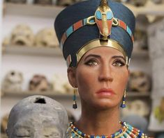 Planet Today News: Scientists have restored the face of the alleged mother of Tutankhamun