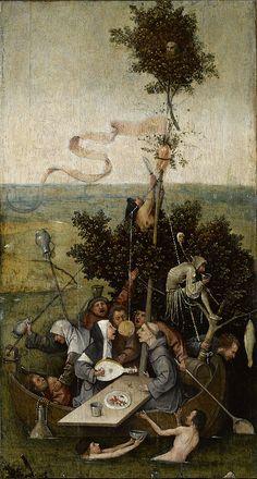 La Nef des Fous, par Jheronimus Bosch