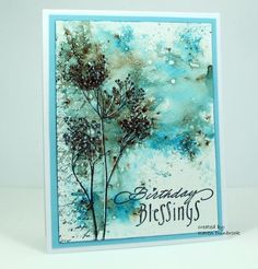 WT524, Wash of Colour by k dunbrook - Cards and Paper Crafts at Splitcoaststampers