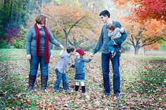fall photography families