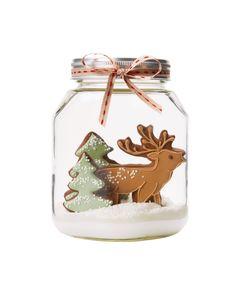 Unbelievably cute… Reindeer Cookie Snow-Globe | Peggy Porschen