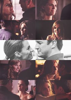 Castle: The way she looks at him :)