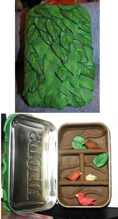 Leafy altoids tin by in-dis-guise