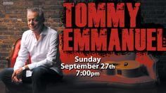 Two-time GRAMMY nominee Tommy Emmanuel is one of Australia's most respected musicians. With a professional career spanning five decades, Tommy has garnered hundreds of thousands of loyal fans worldwide. Don't Miss Out!! Buy your tickets now at www.thevetsri.com