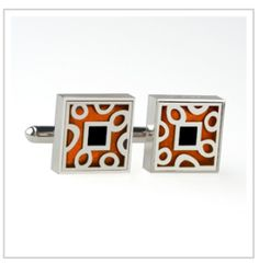 Copper Silver Cufflinks  | The TOTEFISH Blog