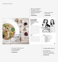 TASTEBOOK by Natalia Lachiewicz, via Behance