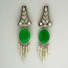 Beautiful Jade Earrings!
