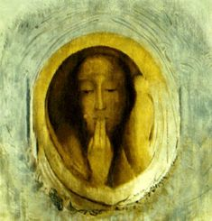 "Odilon Redon    "" It is precisely from the regret left by the imperfect work that the next one can be born..."""