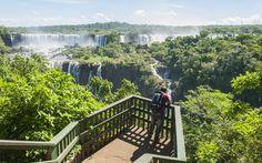 Iguazu Falls, Brazil, Argentina, South America