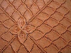 Lotus Baby Blanket  *Free Pattern