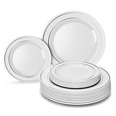 Easy To Clean Handsome Appearance Outdoor Reusable Dish Responsible Pp Plastic Plate For Bbq Picnic Garden Party