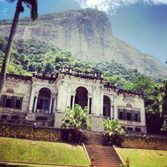 Parque Lage w Rio de Janeiro, RJ