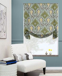 Relaxed Roman Shades | Fabric Roman Blinds | The Shade Store | new ...