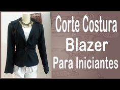 Curso Corte e Costura passo-a-passo Blazer para Iniciantes - Todo Embutido - Alta Costura - Vídeo02 - YouTube