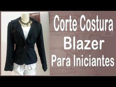Curso Corte e Costura passo-a-passo Blazer para Iniciantes - Todo Embutido - Alta Costura - Vídeo01 - YouTube